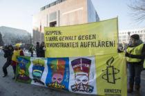 Aktion in Berlin: 500 Nofreteten für Ägyptens Zukunft